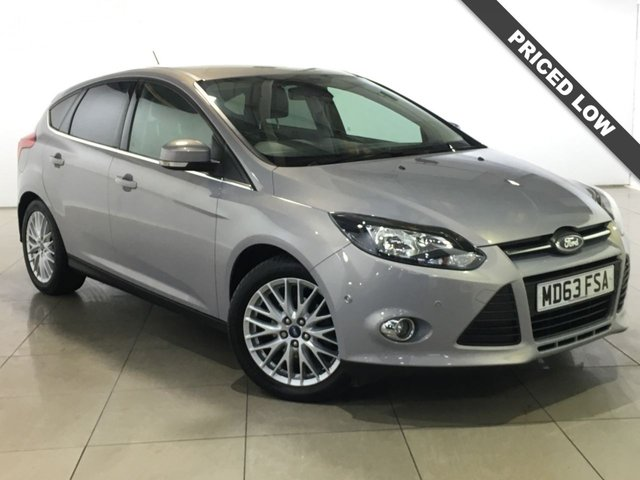 View our 2014 63 FORD FOCUS 1.0 ZETEC NAVIGATOR 5d 99 BHP