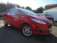 USED 2015 64 FORD FIESTA 1.2 ZETEC 3d 81 BHP FORD BLUETOOTH WITH VOICE CONTROL