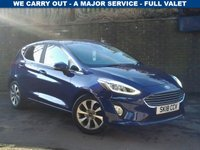 USED 2018 18 FORD FIESTA 1.0 ZETEC 5d 99 BHP  (STYLE PACK)