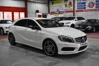 2014 MERCEDES-BENZ A CLASS 1.8 A200 CDI BLUEEFFICIENCY AMG SPORT 5d AUTO 136 BHP £13985.00