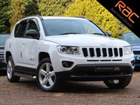 USED 2012 62 JEEP COMPASS 2.4 LIMITED 5d AUTO 168 BHP (FULL LEATHER & REAR CAMERA)