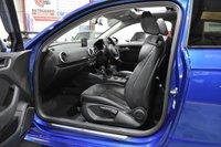 USED 2015 65 AUDI A3 2.0 S3 QUATTRO 3d AUTO 296 BHP