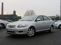 USED 2007 57 TOYOTA AVENSIS 1.8 T2 COLOUR COLLECTION VVT-I 5d 128 BHP