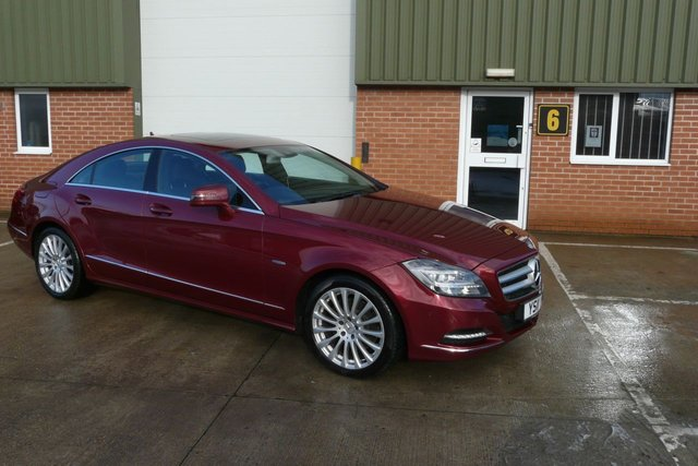 2011 11 MERCEDES-BENZ CLS CLASS 2.1 CLS250 CDI BLUEEFFICIENCY 4d AUTO 204 BHP