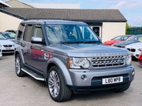 USED 2012 12 LAND ROVER DISCOVERY 3.0 4 SDV6 XS 5d AUTO 255 BHP SAT NAV * FULL LEATHER