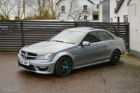 USED 2011 S MERCEDES-BENZ C CLASS 6.2 C63 AMG EDITION 125 MSL TUNED 6 MONTHS RAC WARRANTY FREE + 12 MONTHS ROAD SIDE RECOVERY!
