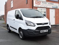 2016 FORD TRANSIT CUSTOM 2.0 290 L1 H1 SWB LOW ROOF 105 BHP AC £11949.00