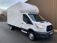 USED 2016 16 FORD TRANSIT 2.2 350 125 BHP LUTON 2016 Extra Long Wheel Base With TAIL LIFT