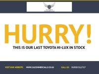 USED 2011 11 TOYOTA HI-LUX 2.5 HL2 4X4 D-4D DCB 150 BHP 2011 NEW CLUTCH KIT Fresh MOT