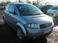 USED 2005 05 AUDI A2 1.4 TDI 5d 89 BHP Cambelt changed - Low tax - Economical 60 mpg average