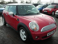 USED 2007 07 MINI HATCH COOPER 1.6 COOPER 3d 118 BHP New shape - New clutch - Bargain