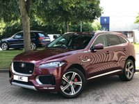 USED 2017 17 JAGUAR F-PACE 3.0 V6 S AWD 5DR AUTO 296 BHP 1 OWNER AMAZING SPEC !!!