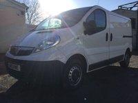 USED 2013 13 VAUXHALL VIVARO  2.0 CDTi 2700 Panel Van 4dr (SWB, EU5) Very clean low miles