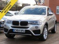 2014 BMW X4 XDRIVE20D SE £SOLD