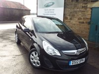 USED 2012 12 VAUXHALL CORSA 1.4 EXCLUSIV AC 3d 98 BHP Great Value 3dr Corsa