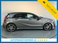 USED 2014 64 MERCEDES-BENZ A CLASS 2.1 A200 CDI AMG SPORT 5d AUTO 136 BHP SERVICE HISTORY - 1 OWNER - SAT NAV - HALF LEATHER - USB - PARKING SENSORS - BLUETOOTH - AIR CON