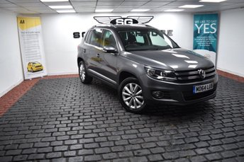 2015 VOLKSWAGEN TIGUAN 2.0 TDI BlueMotion Tech Match DSG 4MOTION (s/s) 5dr £12685.00