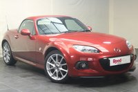 USED 2014 63 MAZDA MX-5 2.0 I ROADSTER SPORT TECH 2d 158 BHP HEATED LEATHER SEATS