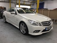 2011 MERCEDES-BENZ E CLASS 2.1 E220 CDI BLUEEFFICIENCY SPORT 2d AUTO 170 BHP £12000.00