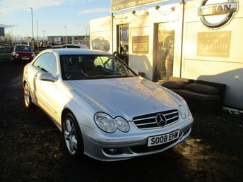 2008 MERCEDES-BENZ CLK 2.1 CLK220 CDI AVANTGARDE 2d AUTO 148 BHP £3995.00