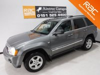USED 2008 08 JEEP GRAND CHEROKEE 3.0 V6 CRD LIMITED 5d 215 BHP A REAL EXAMPLE OF A STUNNING AND VERY WELL LOOKED AFTER UTILITY VEHICLE , FINISHED IN GLEAMING GRAY  METALLIC,  SERVICE HISTORY, ,  BLACK LEATHER INTERIOR WITH HEATED SEATS,  FRONT SPOT LIGHTS, CROME ROOF RAILS,  18INCH UPGRADED ALLOYS, , SAT NAV, LEATHER CLAD MULTI FUNCTION STEERING WHEEL,  BLUE TOOTH PREP, VOICE COMMAND,  AUX USB LEAD, AUTO HEAD LAMPS,  DAD CD RADIO