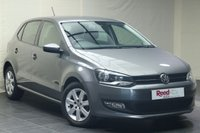 "USED 2013 13 VOLKSWAGEN POLO 1.4 MATCH EDITION DSG 5d AUTO 83 BHP PARKING SENSORS + 15"" ALLOYS"