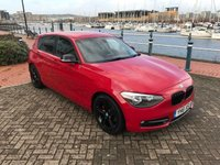 USED 2011 61 BMW 1 SERIES 2.0 120D SPORT 5d AUTO 181 BHP BLACK PACK! AUTO! GOOD HISTORY! BLUETOOTH!