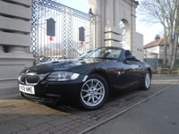 USED 2008 08 BMW Z4 2.0 Z4 I SE ROADSTER 2d 150 BHP *FINANCE ARRANGED**PART EXCHANGE WELCOME ** ELECTRIC ROOF* AC* CD PLAYER* ELECTRIC WINDOWS & MIRRORS* 6 SPEED