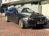 2014 BMW 5 SERIES 2.0 520D SE 4d AUTO 181 BHP £SOLD