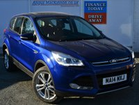 USED 2014 14 FORD KUGA 2.0 TITANIUM X TDCI 5d Family SUV with Panoramic Glass Roof Heated Leather Seats Rear Parking Sensors and much more **ONE FORMER KEEPER**