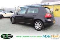 USED 2006 06 VOLKSWAGEN GOLF 2.0 SPORT TDI 5d 138 BHP BLACK DIESEL FULL SERVICE HISTORY + CAMBELT REPLACED