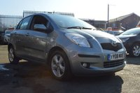 USED 2008 08 TOYOTA YARIS 1.3 T SPIRIT VVT-I MM 5d AUTO 86 BHP