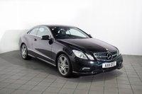2011 MERCEDES-BENZ E CLASS 3.0 E350 CDI BLUEEFFICIENCY SPORT 2d AUTO 231 BHP £12862.00