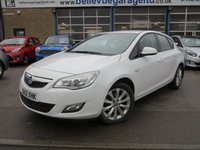 2012 VAUXHALL ASTRA 1.7 ACTIVE CDTI 5d 108 BHP £SOLD