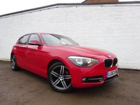 USED 2013 63 BMW 1 SERIES 2.0 118D SPORT 5d AUTO 141 BHP