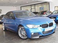 USED 2014 14 BMW 3 SERIES 320D M SPORT 4d AUTO 181 BHP M PERFROMANCE STYLING+SAT NAV