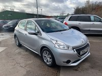 USED 2013 62 PEUGEOT 208 1.4 ACCESS PLUS HDI 5d 68 BHP FULL SERVICE HISTORY