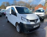 USED 2014 64 NISSAN NV200 1.5 DCI ACENTA 1d 90 BHP IMMACULATE SMALL VAN WITH FANTASTIC MPG!!
