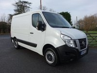 2016 NISSAN NV400 SWB LOW ROOF 2.3DCI 110 BHP £7495.00