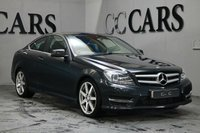 USED 2013 13 MERCEDES-BENZ C-CLASS 1.6 C180 BLUEEFFICIENCY AMG SPORT 2d 154 BHP Black Full Leather Heated Seats with Contrast White Stitch, Command Satellite Navigation + Bluetooth Connectivity, Front and Rear Park Distance Control, 18 Inch AMG Alloy Wheels, Heated Electric Powerfold Mirrors, Leather Multi Function Steering Wheel, Cruise Control, Automatic Xenon Headlights with Power Wash, Dual Zone Climate Control