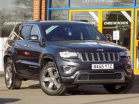 USED 2015 65 JEEP GRAND CHEROKEE 3.0 V6 CRD Overland 5dr Auto (250) *Sat Nav + Leather + Pan Roof*