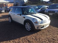 USED 2007 07 MINI HATCH COOPER 1.6 COOPER 3d 118 BHP EXCEPTIONALLY LOW MILEAGE,WITH SERVICE HISTORY