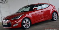 USED 2013 13 HYUNDAI VELOSTER 1.6GDi SPORT 4 DOOR COUPE 140 BHP Finance? No deposit required and decision in minutes.