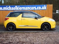 USED 2012 12 CITROEN DS3 1.6 E-HDI DSTYLE PLUS 3d 90 BHP FULL SERVICE HISTORY X 6 STAMPS