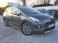 USED 2013 63 PEUGEOT 3008 1.6 E-HDI ACTIVE 5d AUTO 115 BHP 1 PREVIOUS OWNER +FULL SERVICE