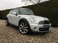 2012 MINI HATCH COOPER 1.6 COOPER D LONDON 2012 EDITION 3d 110 BHP £7990.00