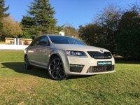 2015 SKODA OCTAVIA 2.0 VRS TDI DSG 5d AUTO 184 BHP £14995.00