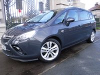 USED 2015 65 VAUXHALL ZAFIRA TOURER 1.4 T SRI 5d AUTO 138 BHP ****FINANCE ARRANGED****PART EXCHANGE WELCOME***1OWNER*FULL SH*7SEATS*2KEYS*CRUISE*CLIMATE*DAB*BLUETOOTH*AIR/CON