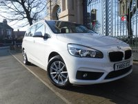 USED 2015 65 BMW 2 SERIES 1.5 216D SE GRAN TOURER 5d 114 BHP **FINANCE ARRANGED**PART EXCHANGE WELCOME**1 OWNER FROM NEW* 7 SEATS* SATNAV* BLUETOOTH* DAB* ELECTRIC TAILGATE