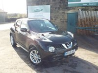 USED 2015 65 NISSAN JUKE 1.2 ACENTA DIG-T 5d 115 BHP Full Nissan Service History One Keeper